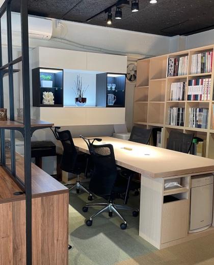 オフィス用特注家具、什器_2